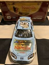 2005 Kyle Petty, Richard Petty, & Dale Inman Triple Autographed #45 Narnia 1/24