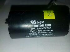 NGM MOTOR RUN CAPACITOR 30 MF 250 VAC 50/60 HZ