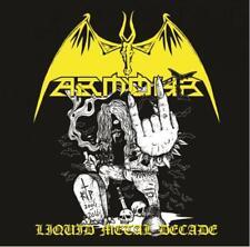 ARMOUR-Liquid Metal Decade CD, Satanic Warmaster, Finland Heavy Metal