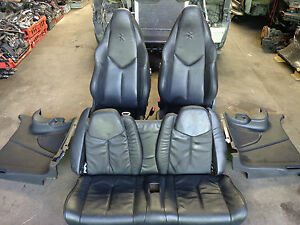 2011 PEUGEOT RCZ GT COMPLETE INTERIOR LEATHER SEATS FRONT & REAR WITH DOOR CARDS