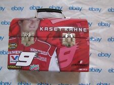NWT NASCAR RACING COLLECTIBLE EVERNHAM MOTORSPORTS #9 KASEY KAHNE TIN LUNCHBOX
