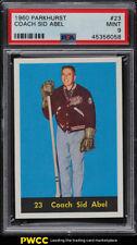 1960 Parkhurst Coach Sid Abel #23 PSA 9 MINT (PWCC)