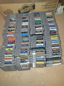 Over 150x Nintendo NES Games, From £3.98 Each With Free Postage, Trusted Shop