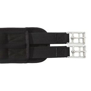 """Kavalkade """"memory"""" Long Girth with two-sided elasticated Inserts - Black"""