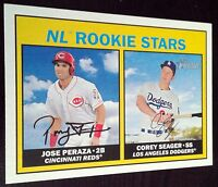 COREY SEAGER 2016 Topps Heritage Rookie Card RC Dodgers NLCS World Series MVP $$
