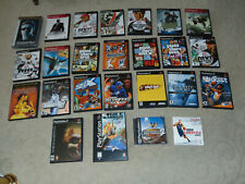 PLAYSTATION 2 PS2 VIDEO GAMES WITH MANUALS - YOU CHOOSE - FREE SHIPPING