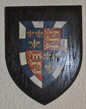 Vintage St John's College Cambridge plaque shield crest coat of arms