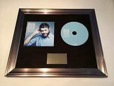 SIGNED/AUTOGRAPHED BRIAN MCFADDEN - THE IRISH CONNECTION FRAMED CD PRESENTATION.