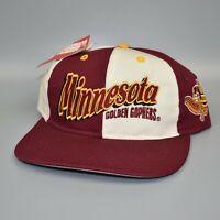 Minnesota Golden Gophers Vintage 90's Pinwheel Twins Enterprise Snapback Cap Hat
