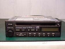 2000-02 Mitsubishi Galant Infinity Radio Cd Player MR490090 CQ-JB9911AB P912