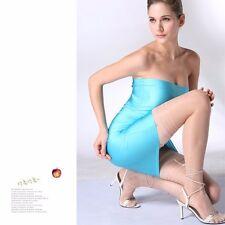 body stockings sex Women transparent Tights Stockings Middle tube socks