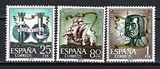 Espagne 1963 Yvert n° 1176 à 1178 institutions hispaniques neuf ** 1er choix