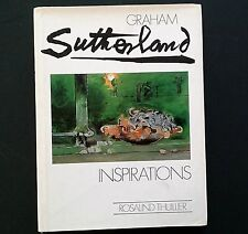 Graham SUTHERLAND Inspirations Thuillier 20th SECOLO PITTURA ARTE 1st ed HB