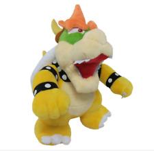"Super Mario Bros. Standing King Bowser Koopa Plush Doll Figure Toy 10"" US ship"