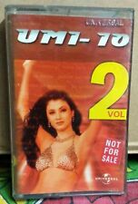 UMI-10 VOL2 Bollywood Indian Audio Cassette Tape UNIVERSAL -Not CD - HARRY ANAND