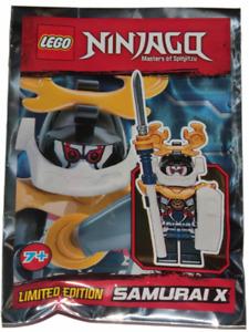 Lego Ninjago - Samurai X - Foil Pack - 891843 njo390 - New & Sealed 2018