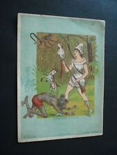 TRES RARE CARTE SALLE CONCERTS DINANT SPECTACLE ROYAL MARIONETTES COMPANY 1891