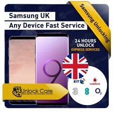 SAMSUNG GALAXY S9 S9+S8+ S8 S7 Edge S7 Plus Unlock Code ee O2 Vodafone 3 UK