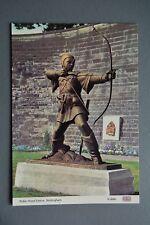 R&L Postcard: Modern, Nottingham Robin Hood Statue, Dennis