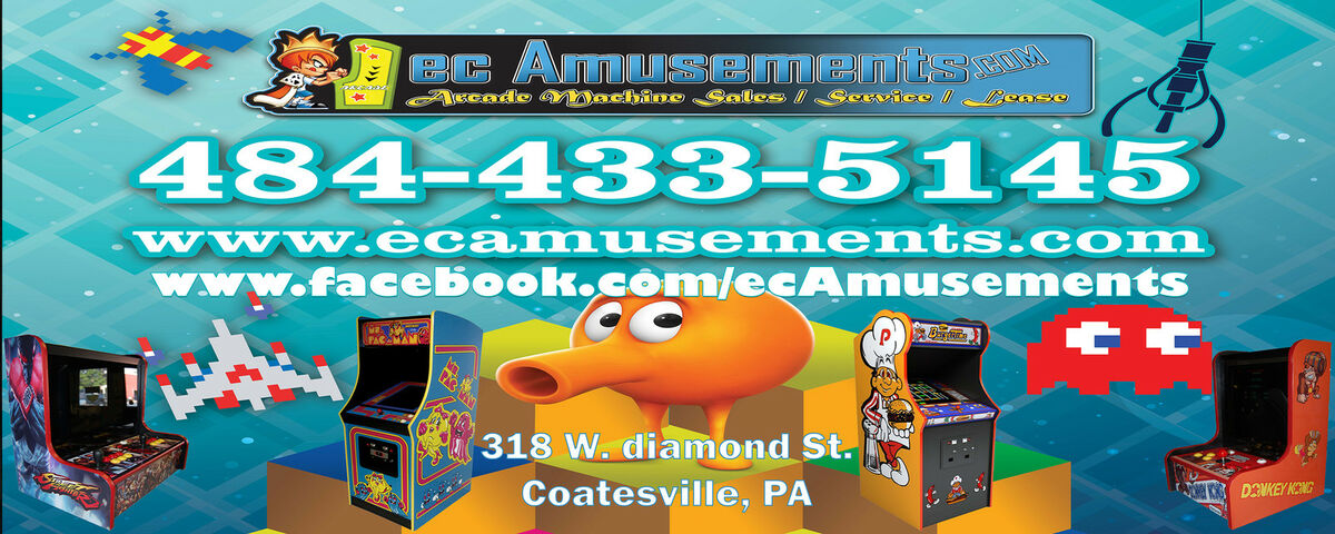 ecAmusements Arcade Sales