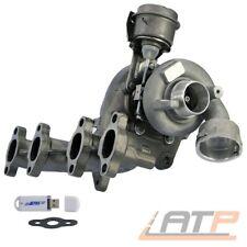 ABGAS-TURBO-LADER + KRÜMMER VW CADDY 3 1.9 TDI BLS BJ 04-10