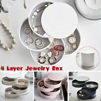 360° Multi-Layer Ohrring Ring Schmuck Display Aufbewahrung Box Fall Organizer