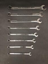 8 Piece CRAFTSMAN USA 12 point Combination Speeder/Speed Wrench Set
