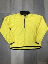 Yellow Nike Over The Head Running Jacket - Size M (8-10)