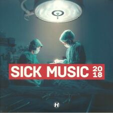 VARIOUS - Sick Music 2018 - Vinyl (gatefold 4xLP) Hospital - Drum And Bass