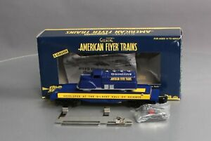 American Flyer 6-49049 S Scale American Flyer Commemorative Unloading Car LN/Box