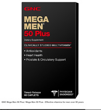 GNC Mega Men 50 Plus / Mega Men 50 Plus - Effective vitamins for men over 50 yea