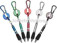 Golf Scoring Pen With Retractable Clip on Key-ring