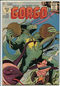 Gorgo #6 - Gorgo Underwater Cover! - 1962 (Grade 7.5)