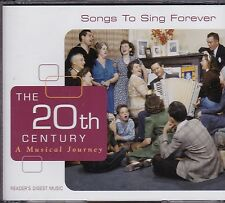 THE 20TH CENTURY - A MUSICAL JOURNEY - VARIOUS ARTISTS on 3 CD'S