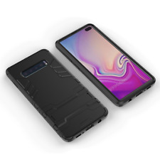 Phone Case Cover For Samsung Galaxy S10e - Slim Tough Shock Proof Builder Stand