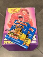 (3) 1988 Topps GARBAGE PAIL KIDS 14th Series Unopened Wax Packs - 14th OS14 Nice