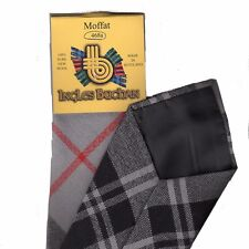 Tartan Tie Clan Moffat Modern Scottish Wool Plaid
