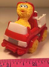 Sesame Street Big Bird Driving A Red Firetruck Matchbox 1996 Jim Henson