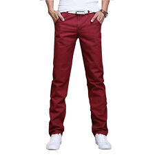 Mode Herren Cargohose Freizeithose Hose Vintage Arbeits Chinohose Trousers Pants
