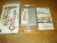 Nintendo Super Famicom Chrono Trigger SFC w/box SNES Japan