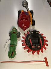 Vtg Lot He-Man Roton Evil Vehicle Road Ripper Bashasaurus Complete 1984 MOTU