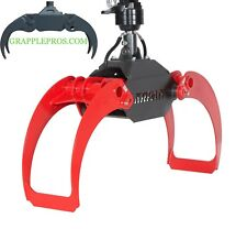 "60"" EXTREME Duty log grapple and 4.5 ton rotator- FREE SHIPPING plus 500$ OFF-"