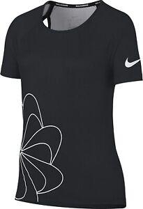 Girls Nike Dry Graphic Running Shirt    Size13-15yrs.  938910-010