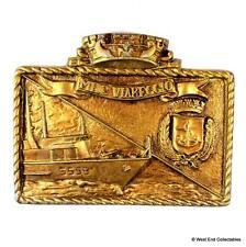MHC Viareggio M-5559 - Marina Militare Italian Navy Metal Tampion Badge Crest