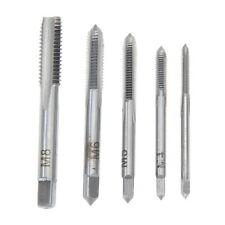 5PCS/Set M3 M4 M5 M6 M8 Machine Hand Screw Thread Metric Plug Tap Drill Kit