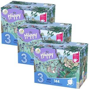 Windeln bella baby Happy Box Gr.3 Midi 5-9kg Sparpack 144 - 432 Stück
