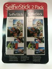 Sunpak Selfie Stick Bluetooth Shutter Release Soft Pouch for GoPro or Phone