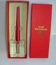 Old Henri Wintermans presentation pen / paper weight boxed .