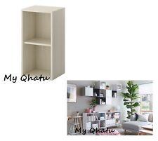 IKEA VALJE Wall Cabinet Storage Shelf Tall LARCH WHITE Brand New 802.796.11