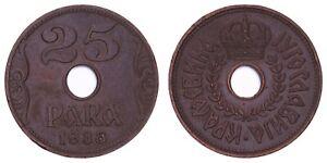 XE.332} YUGOSLAVIA 25 para 1938 VF
